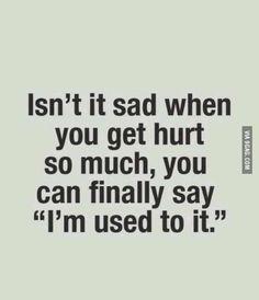 Sad life