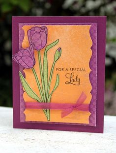 Special Lady  #cards #crafts
