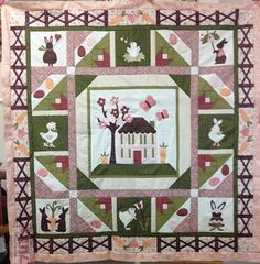 Cute Spring Bunny Block of the Month