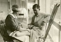 WWI amputee at Walter Reed by yksin, via Flickr