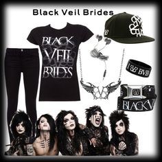 """!!!!!!!!!!!!!BVB!!!!!!!!!!!!!!!"" by layla0 ❤ liked on Polyvore"