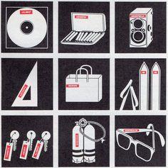 Dymo Labelling Ideas. 1977. | Present&Correct Dymo Label, Ephemera, Playing Cards, Presents, Illustration, Instagram Posts, Oc, Icons, Graphic Design