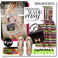 #Easy Peasy - Throw And Go Dress by nikkisg on Polyvore featuring House of…