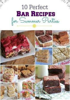 10perfect desserts