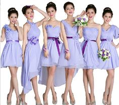Find More   Information about Soft Blue Bridesmaid Dress Chiffon Above Knee Dress To Party Bridalmaid Dresses Cheap Bridesmaid Dresses Under 50,High Quality  ,China   Suppliers, Cheap   from Princess Sally International Co.,Ltd. on Aliexpress.com
