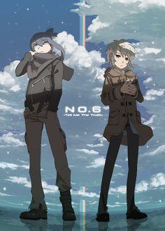 , No.6, Nezumi, Shion,