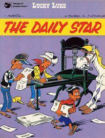 Lucky Luke - The Daily Star (Le Daily Star)