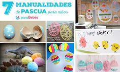 7 Manualidades de Pascua para niños #diy #niños #manualidades #kids #pascua #easter