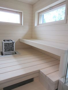 sauna-idea Sauna Design, Finnish Sauna, Sauna Room, Home Spa, Classic Furniture, My Dream Home, Cool Things To Buy, House Design, Interior Design