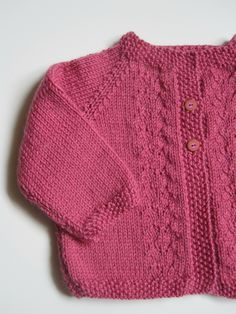 Yuna … s – Ceciles Strickwaren – Baby Kleidung Baby Knitting Patterns, Baby Cardigan Knitting Pattern, Free Knitting, Boyfriend Crafts, Baby Wearing, Lana, Knitted Hats, Knitwear, Embroidery