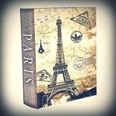 ESPECIAL DIA DOS PAIS! Guarde seus momentos especiais com seu pai neste lindo álbum de fotos retrô.   #adoro #adoropresentes #adorodecoração #presentes #decor #decoração #bookbox #paris #lojavirtual #lojaonline