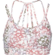 f81fa51fcb587 Pink   White Print Padded Sports Bra - Gym wear - Activewear - Women