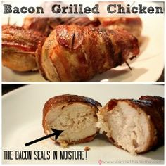 Bacon Grilled Chicken
