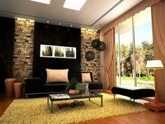 ides de salon contemporain dcoration salon dcor de salon - Model Dedecoration Desalon Moderne