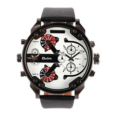 OULM Men Watch Sports Luxury Four Movements Charming Watch - Gchoic.com