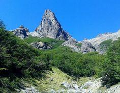 Aguja Luhrs, Cerro Lopez, Bariloche, Argentina.