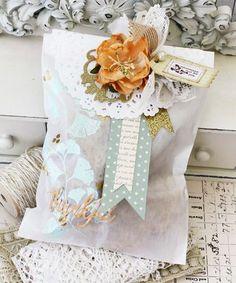 Harvest Berries Revisited: Embellished Cookie Bag by Melissa Phillips for Papertrey Ink (September 2014)
