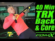 TRX Back and Core Workout with FDMX 2017 - YouTube