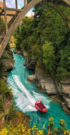 Shotover Jet - River Canyons, Queenstown, New Zealand