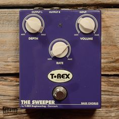 T-Rex The Sweeper Bass Chorus USED