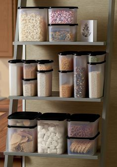 Modular Mates® Containers. An organized pantry is a happy pantry. With spill-proof seals to keep food extra fresh, Modular Mates® containers help you store more and maximize shelf space.