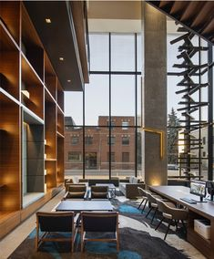 LEMAYMICHAUD | Marriott | Calgary | Architecture | Design | Hospitality | Hotel | Country | Cowboy | Concrete | Wood Calgary, Architecture Design, Concrete Wood, Hospitality, Conference Room, Country, Furniture, Home Decor, Store