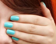 turquoise | aqua | nails, nailpolish