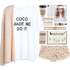 """""""Just Peachy"""" by vv0lf on Polyvore"""