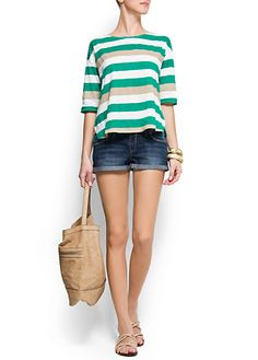 MANGO - BAGS - Spring-Summer - T-shirt
