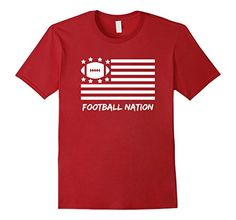 FOOTBALL NATION FLAG T-Shirt- Available in Men's, Women's, and Youth!