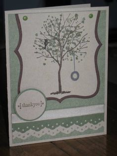 Always Thank You Tree by klwco - Cards and Paper Crafts at Splitcoaststampers
