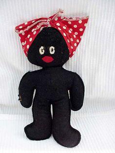 Peluche Mammy poupée poupées jouets & jeux par DixieAntiques