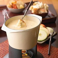 Swiss Fondue From Better Homes and Gardens, ideas and improvement projects for your home and garden plus recipes and entertaining ideas.