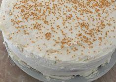 Mascarponés citromtorta recept foto Vanilla Cake, Desserts, Food, Decor, Mascarpone, Tailgate Desserts, Deserts, Decoration, Essen