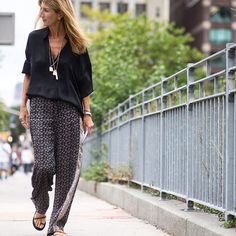netaporter:   Staying #cool in the #NewYork heat,... Fashion Tumblr   Street Wear, & Outfits