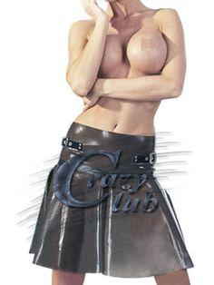 クレイジー club_Sexy女性ラテックス ボトムス フェチ透明スカート煙ラテックス スカート ラテックス送料無料高速配信