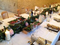 Winter Wedding @Kingscote Barn #crackers