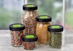 2ball Regular Mouth Plastic Herb~spice Shaker Lids