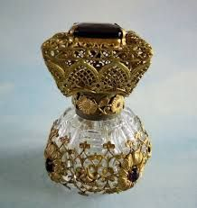 Image result for Czech perfume bottle brass ebay