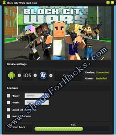 Block City Wars Hack Tool