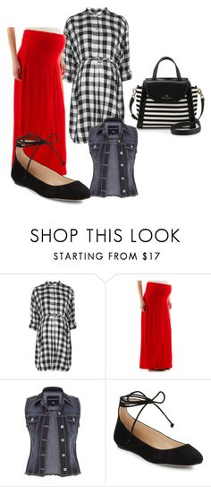 """""""Untitled #480"""" by actuallyithappens ❤ liked on Polyvore featuring Topshop, maurices, Karl Lagerfeld and Kate Spade"""
