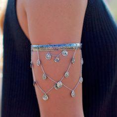 Feelin' #boho in this #armband