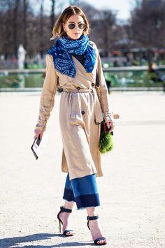 gestuz maren coat, h&m jeans; boohoo heels, zara scarf