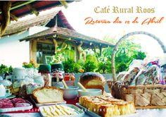 Único café rural de Joinville, com um delicioso buffet e paisagems rurais