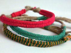 Tutorial DIY: Zrób plecioną bransoletkę w kształcie jodełki przez DaWanda.com