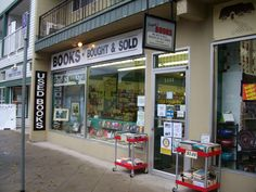 Bryan's Used Book Store in Ladner, B. I love my job, managing this store, surrounded by books Love My Job, Good Job, Store Closing, Used Books, Vancouver, Buy And Sell, Lost, Holidays, Stuff To Buy
