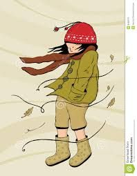 Illustration about The little girl walking in windy weather. Illustration of wrapper, windy, little - 8482976 Windy Weather, Windy Day, Fall Weather, Rainy Days, Weather Quotes, Blowin' In The Wind, Weathered Paint, Autumn Day, Fall Days