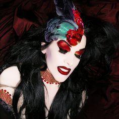 Diamanda Galas - By Austin Young 2005 Diamanda Galas, Goth Music, Fierce Women, Creative Makeup Looks, Louise Brooks, Nina Hagen, Man Ray, Music Icon, Post Punk