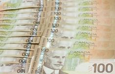 A stack of Canadian one hundred dollar bills. Canadian one hundred dollar bills , 100 Dollar Bill, Dollar Bills, Trudeau Canada, Make Money Online, How To Make Money, Political Scandals, Politics, Canadian Dollar, Government Spending
