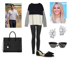 """""""Princess Elizabeth spotted with Henry Cavill post Harry Styles Split"""" by royal-fashion ❤ liked on Polyvore featuring Topshop, MICHAEL Michael Kors, Yves Saint Laurent, JULIANNE, Kenneth Jay Lane and Ted Baker"""